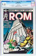 Modern Age (1980-Present):Science Fiction, Rom #23 (Marvel, 1981) CGC NM/MT 9.8 White pages....