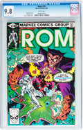Modern Age (1980-Present):Science Fiction, Rom #19 (Marvel, 1981) CGC NM/MT 9.8 White pages....