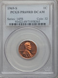 Proof Lincoln Cents, 1969-S 1C PR69 Red Deep Cameo PCGS. PCGS Population (47/0). NGC Census: (27/0). Numismedia Wsl. Price for problem free NGC...