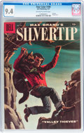 Silver Age (1956-1969):Adventure, Four Color #789 Silvertip (Dell, 1957) CGC NM 9.4 Off-white to white pages....