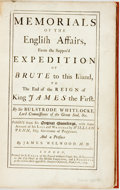 Books:World History, Whitelocke, Sir Bulstrode & William Penn. Memorials of the English Affairs, From the Suppos'd Expedition of Bute to this...