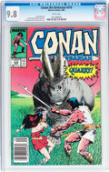Modern Age (1980-Present):Miscellaneous, Conan the Barbarian #210 (Marvel, 1988) CGC NM/MT 9.8 White pages....