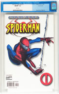 Modern Age (1980-Present):Superhero, Ultimate Spider-Man #1 Variant Cover (Marvel, 2000) CGC NM/MT 9.8White pages....