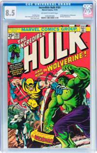 The Incredible Hulk #181 (Marvel, 1974) CGC VF+ 8.5 Off-white to white pages