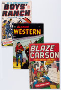 Golden Age (1938-1955):Western, Comic Books - Assorted Golden Age Western Comics Group (Various Publishers, 1950s) Condition: Average VG-.... (Total: 8 Comic Books)