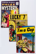 Golden Age (1938-1955):Miscellaneous, Comic Books - Assorted Golden Age Comics Group (Various Publishers, 1950s) Condition: Average GD/VG.... (Total: 13 Comic Books)