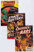 Golden Age (1938-1955):Science Fiction, Comic Books - Assorted Golden Age Science Fiction Comics Group(Various Publishers, 1952-58) Condition: GD/VG.... (Total: 5 ComicBooks)