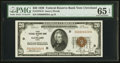 Small Size:Federal Reserve Bank Notes, Fr. 1870-D $20 1929 Federal Reserve Bank Note. PMG Gem Uncirculated 65 EPQ.. ...