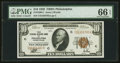 Small Size:Federal Reserve Bank Notes, Fr. 1860-C $10 1929 Federal Reserve Bank Note. PMG Gem Uncirculated 66 EPQ.. ...