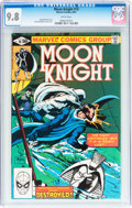 Modern Age (1980-Present):Superhero, Moon Knight #10-12 CGC-Graded Group (Marvel, 1981) Condition: NM/MT9.8.... (Total: 3 Comic Books)
