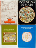 Books:Maps & Atlases, [Maps]. Group of Four Books on Maps and Map Collecting. Various publishers and dates. Quartos. Publisher's bindings, three w... (Total: 4 Items)