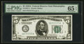 Small Size:Federal Reserve Notes, Fancy Serial Number Fr. 1951-C $5 1928A Federal Reserve Note. PMG Gem Uncirculated 65 EPQ.. ...