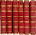 Books:Periodicals, [Bound Periodical]. The Sporting Magazine. New Series, Vols. I - VI. London: R. Ackerman, 1841-1843. No edition ... (Total: 6 Items)