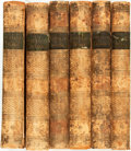 Books:Periodicals, [Joseph Addison]. The Works of the Right Honourable Joseph Addison, Collected by Mr. Tickell, Vols. I-VI. London: Fo... (Total: 6 Items)