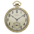 Timepieces:Pocket (post 1900), Hamilton 14k Gold 21 Jewel Grade 904 Pocket Watch. ...