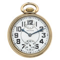 Timepieces:Pocket (post 1900), Waltham 23 Jewel Vanguard Up/Down Indicator Pocket Watch. ...