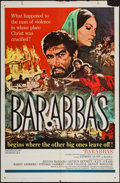 "Movie Posters:Adventure, Barabbas & Other Lot (Columbia, 1962). One Sheets (2) (27"" X41""). Adventure.. ... (Total: 2 Items)"