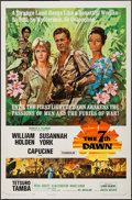 "Movie Posters:War, The 7th Dawn (United Artists, 1964). One Sheet (27"" X 41""). War....."