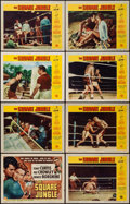 """Movie Posters:Sports, The Square Jungle (Universal International, 1955). Lobby Card Set of 8 (11"""" X 14""""). Sports.. ... (Total: 8 Items)"""