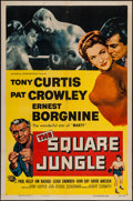 "Movie Posters:Sports, The Square Jungle (Universal International, 1955). One Sheet (27"" X 41""). Sports.. ..."