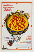 "Movie Posters:Adventure, Around the World in 80 Days (United Artists, R-1968). One Sheet(27"" X 41""). Adventure.. ..."