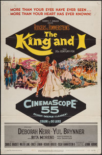 "The King and I (20th Century Fox, 1956). One Sheet (27"" X 41""). Musical"