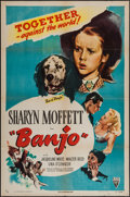 """Movie Posters:Drama, Banjo & Other Lot (RKO, 1947). One Sheets (2) (27"""" X 41""""). Drama.. ... (Total: 2 Items)"""