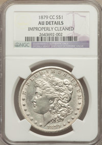 1879-CC $1 -- Improperly Cleaned -- NGC Details. AU. NGC Census: (63/1331). PCGS Population (83/2489). Mintage: 756,000...