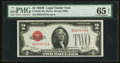 Small Size:Legal Tender Notes, Fr. 1503 $2 1928B Legal Tender Note. PMG Gem Uncirculated 65 EPQ.. ...