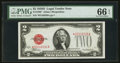 Small Size:Legal Tender Notes, Fr. 1505* $2 1928D Legal Tender Note. PMG Gem Uncirculated 66 EPQ.. ...