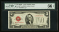 Small Size:Legal Tender Notes, Fr. 1507* $2 1928F Legal Tender Note. PMG Gem Uncirculated 66 EPQ.. ...