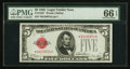 Fr. 1525* $5 1928 Legal Tender Note. PMG Gem Uncirculated 66 EPQ
