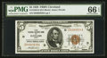 Small Size:Federal Reserve Bank Notes, Fr. 1850-D $5 1929 Federal Reserve Bank Note. PMG Gem Uncirculated 66 EPQ.. ...