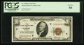 Small Size:Federal Reserve Bank Notes, Fr. 1860-E $10 1929 Federal Reserve Bank Note. PCGS Gem New 66.. ...