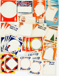Miscellaneous:Ephemera, Large Group of Vintage Pricetags. N.d. Very good. From thecollection of Judith Adelman. . ...