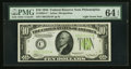 Small Size:Federal Reserve Notes, Fr. 2004-C* $10 1934 Federal Reserve Note. PMG Choice Uncirculated 64 EPQ.. ...