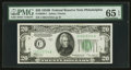 Small Size:Federal Reserve Notes, Fr. 2056-C $20 1934B Federal Reserve Note. PMG Gem Uncirculated 65 EPQ.. ...