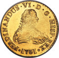Chile, Chile: Ferdinand VI gold 8 Escudos 1751 So-J MS62 PCGS,...