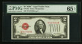Small Size:Legal Tender Notes, Fr. 1504 $2 1928C Legal Tender Note. PMG Gem Uncirculated 65 EPQ.. ...