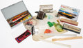Books:Furniture & Accessories, Garth Williams-Owned Art Supplies Includes a wide variety of drawing tools, pens, pencils, paintbrushes, mixing bowls, penci... (Total: 16 Items)