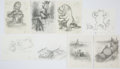 Books:Original Art, Approximately One Hundred and Eight Pencil Preliminaries for Tucker's Countryside by George Selden. All are in... (Total: 108 Items)