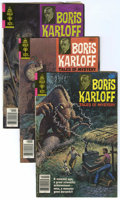 Bronze Age (1970-1979):Horror, Boris Karloff Tales of Mystery Group (Gold Key, 1979) Condition:Average FN.... (Total: 3 Comic Books)
