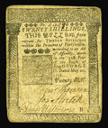 Colonial Notes:Pennsylvania, Pennsylvania May 20, 1758 20s Fine-Very Fine. A nice type note, with only honest wear and no severe problems. There is a hea...