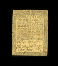 Colonial Notes:Pennsylvania, Pennsylvania May 20, 1758 20s Fine. This Franklin note has beenquarter-folded with a couple of edge nicks off the fold line...