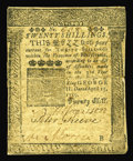 Colonial Notes:Pennsylvania, Pennsylvania April 25, 1759 20s Very Fine. This is one of theFranklin examples we have handled the least. This note has a c...