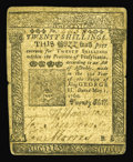 Colonial Notes:Pennsylvania, Pennsylvania May 1, 1760 20s Fine-Very Fine. This B. Franklin notefrom Plate 'B' has some minor edge splits on the horizont...
