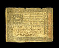 Colonial Notes:Pennsylvania, Pennsylvania October 1, 1773 2s Very Good-Fine. This wellcirculated specimen is almost complete with a couple notches outo...