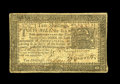 Colonial Notes:Pennsylvania, Pennsylvania March 16, 1785 10s Fine+. A small hole along the foldline is visible on this well margined and fairly well cen...