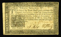Colonial Notes:Pennsylvania, Pennsylvania March 16, 1785 20s Extremely Fine. A wide left marginis accented by its bold print and excellent eye appeal....