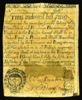 Colonial Notes:Rhode Island, Rhode Island July 5, 1715 Redated 1737 2s/6d Very Fine-Extremely Fine. This July 5, 1715 Redated 1737 issue was represented ...